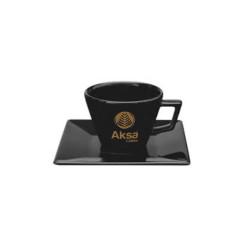 XICARA CAFE QUARTIER C/PIRES 75 ML OX PRETA
